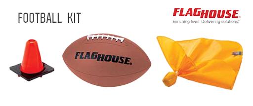 FlagHouse Football Kit